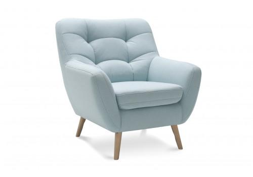 Gala Scandi fotel kék Aquaclean szövettel