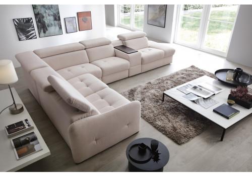 Gala Domani moduláris kanapé krém Aquaclean szövettel