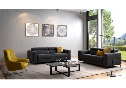 ROM Tinos egyedien tervezhető kanapé