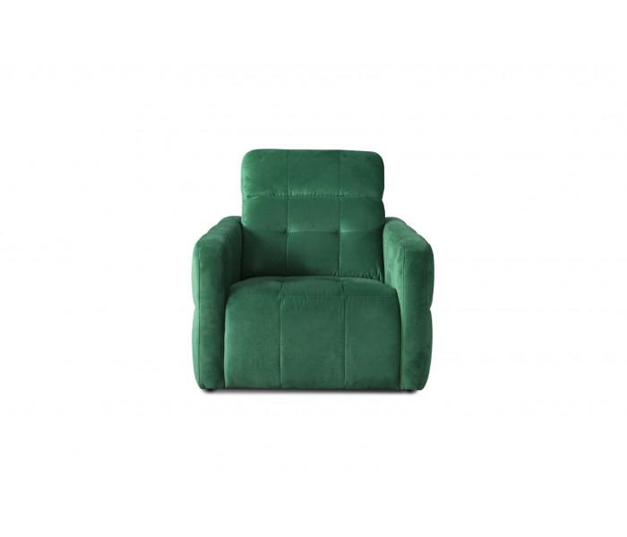 Gala Cantata fotel zöld Aquaclean szövettel